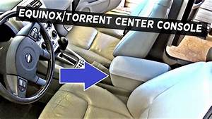 How To Remove The Center Console On Chevrolet Equinox Or Pontiac Torrent
