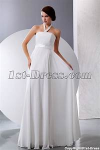 simple halter summer chiffon maternity wedding dresses1st With simple maternity wedding dresses