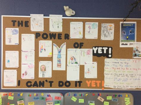 """the Power Of Yet"" In Room 6! (abraham Erb Public School"