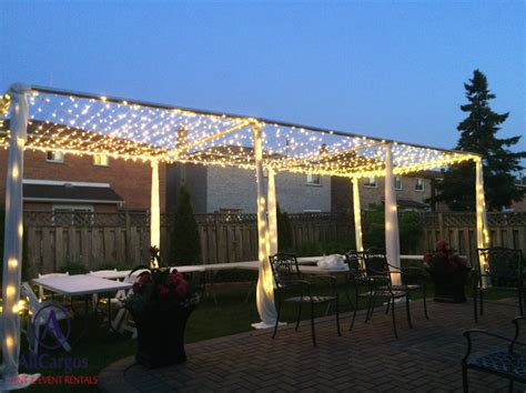 canap駸 lits allcargos tent event rentals inc twinkle light canopy