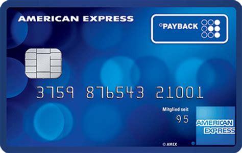payback american express card kreditkarte und punkte