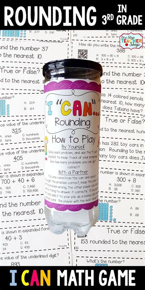 Third Grade Rounding Interactive Games  1000 Ideas About Rounding Activities On Pinterest 4th