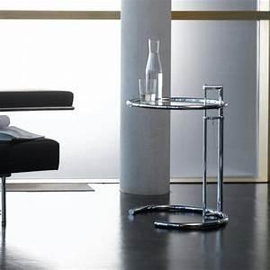 Adjustable Table E 1027 : adjustable table e 1027 beistelltisch classicon ~ Bigdaddyawards.com Haus und Dekorationen