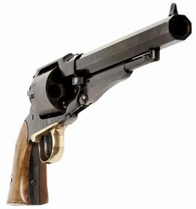 Deactivated Black Powder Percussion Revolver - Modern ...