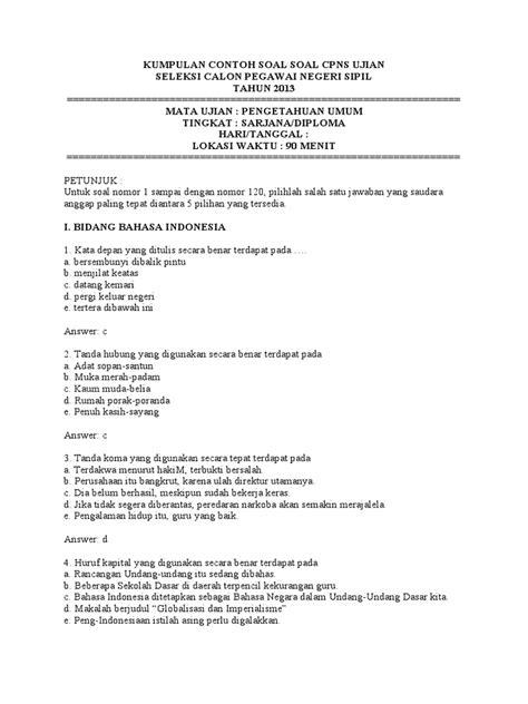 Contoh soal ujian pppk tahun 2021 kompetensi manajerial dvcodes.com. Uji Kompetensi Manajerial Contoh Soal Assessment Polri Dan ...