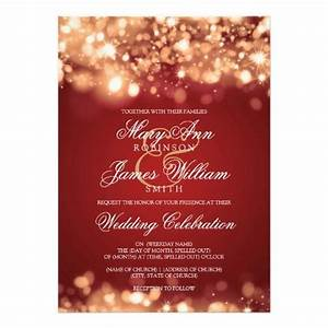 25 best ideas about red wedding invitations on pinterest With red and gold christmas wedding invitations