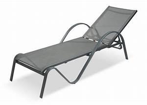 Chaise Longue Aluminium : chaise longue r glable aluminium sunset meubles de ~ Teatrodelosmanantiales.com Idées de Décoration