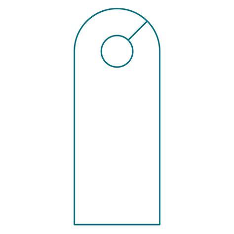 door template door knob hanger template illustrator templates resume exles pvyeknygme