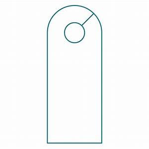 door knob hanger template illustrator templates resume With door hanger template indesign