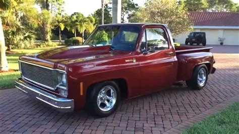 bed frame no box sold 1976 chevrolet c10 stepside truck for sale