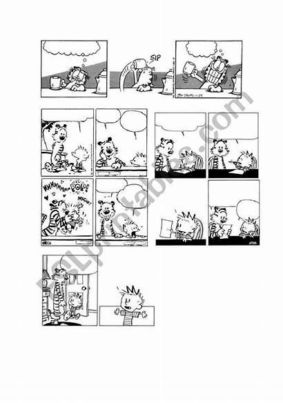 Comic Calvin Hobbes Strips Blank Garfield Comics