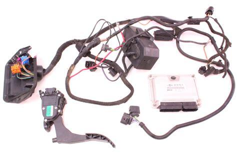 24v vr6 engine motor wiring ecu vw jetta golf gti mk1 mk2 mk3 mk4 bdf ebay