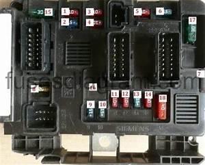 Garage 206 Mec U00e2nica E El U00e9trica  Diagrama Da Caixa De Fus U00edveis Do Cofre Do Motor Do Peugeot 206