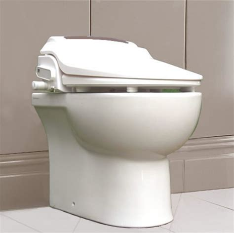 Bidet Toilet Combination by Btw01r Combination Toilet And Bidet Seat