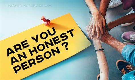 Honesty Essay: Do You Consider That You Are Honest Person ...