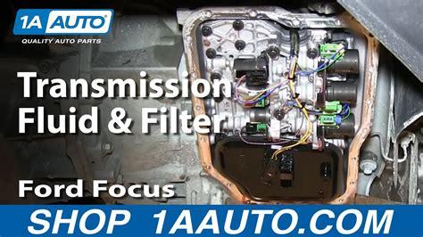 service change transmission fluid  filter ford