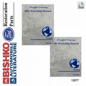 2001 Ford Escape Shop Service Repair Manual Cd
