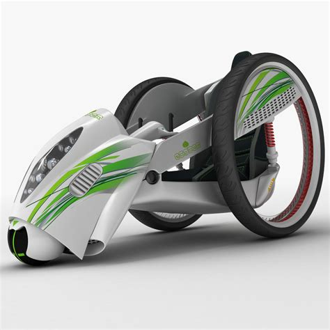 Compact Electric Cars by 3d Model Compact Electric Car