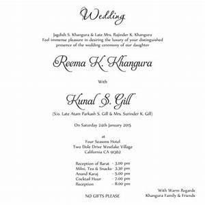 Looking for wedding card wordings for Wedding invitation quotes for daughter marriage in english