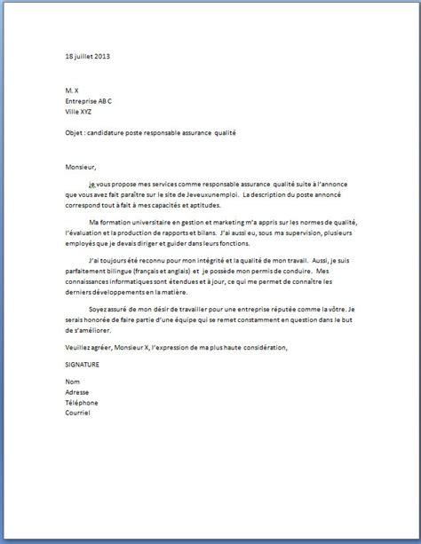 aide modele lettre de motivation secretaire
