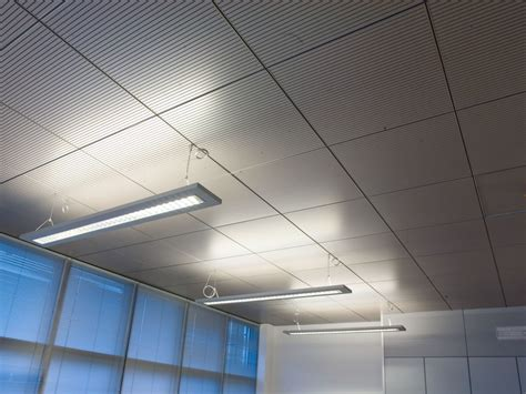 sound absorbing radiant ceiling tiles climacustic by fantoni