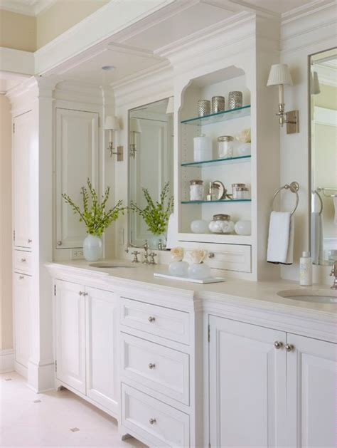 Houzz Bathroom Vanities White by Classic Informality Traditional Bathroom New York