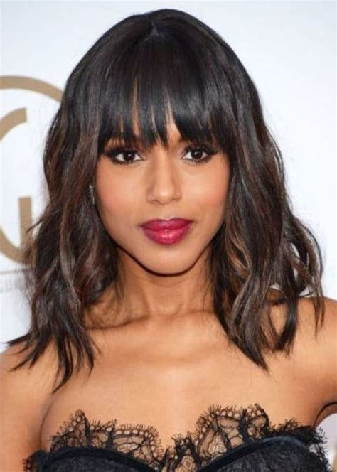 Black Hairstyles Weave by Weave With Bangs For Black Hairstylo