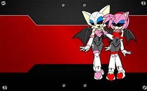 Metal Sega Girls - Sonic & Video Games Background ...