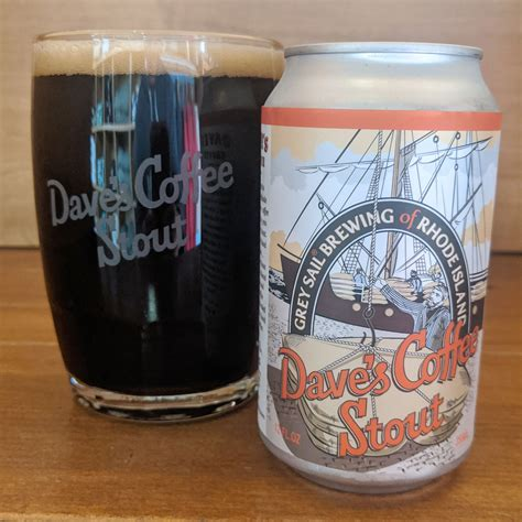 The following beer recipe is featured in the september/october 2012 issue of zymurgy magazine. Dave's Coffee Stout | Grey Sail Brewing Company, LLC