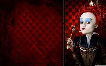 Wonderland Alice Queen Hearts Wallpapers Desktop Background