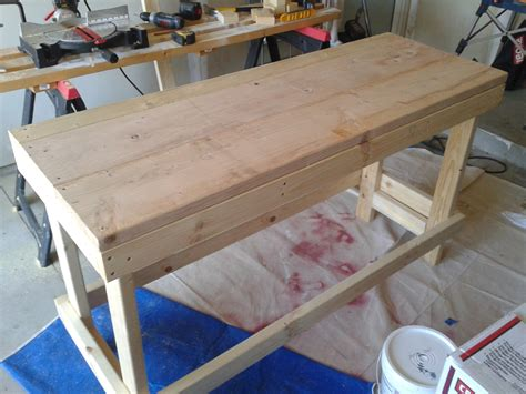 hodgepodge  odds  ends   garage workbench