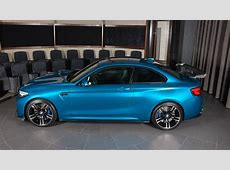 BMW M2 Long Beach Blue Gets Custom Carbon Fiber Aero Pack