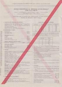 Que Faire De La Carte Grise En Cas De Vente : demande de certificat d 39 authenticit alpine page 3 far forum alpine renault ~ Gottalentnigeria.com Avis de Voitures