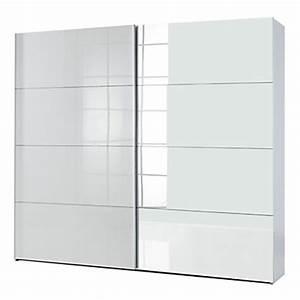 Armoire Laqué Blanc : armoire portes coulissantes penderies dressing portes coulissantes alin a ~ Teatrodelosmanantiales.com Idées de Décoration