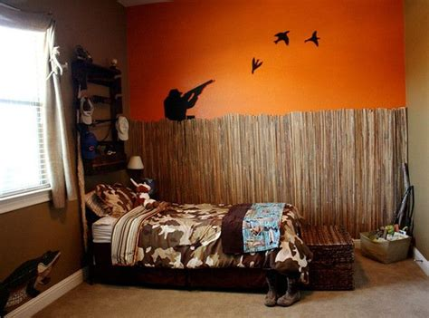 hunting theme bedrooms ideas  pinterest man