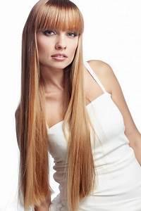 Lange Haare Mit Schrägem Pony Stufenschnitt Lange Haare Mit Pony