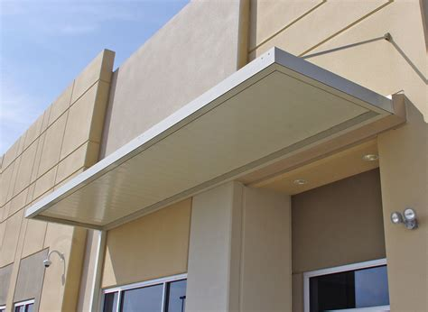 Imperial Marquee Awning With 8-wide Flat Panels