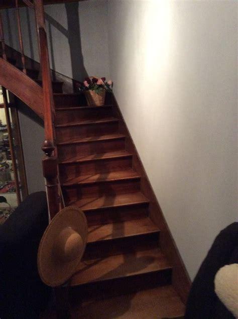 peindre un escalier en bois exotique de conception de maison