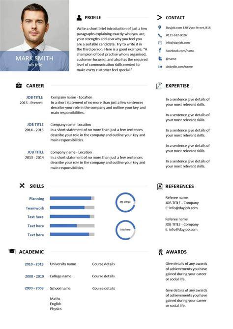 Buy Cv Template by Modern Resume Template 6 Exles Sle New Design