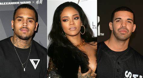 Chris Brown Dissing Rihanna And Drake's 'work' Music Video