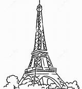 Tower Eiffel Paris Coloring Pages Printable Getcolorings Colouring Getdrawings Adults Colorings sketch template