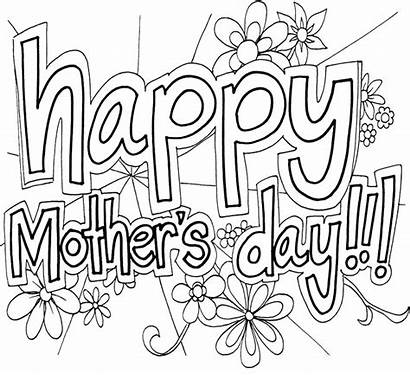 Coloring Mothers Mother Pages Printable Happy Adults