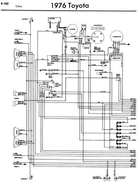 voltase hobby toyota celica a20 1976 wiring diagrams