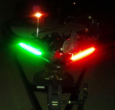 led boat running lights led boat lights solar highway bill warman solar panel