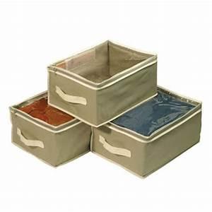 Boite Rangement Vetement : boite de rangement boites de rangement en toile ~ Teatrodelosmanantiales.com Idées de Décoration