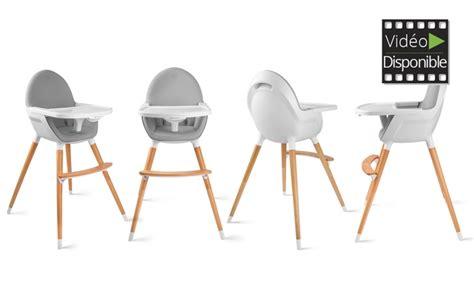 chaise 3 en 1 chaise haute bébé kinderkraft groupon