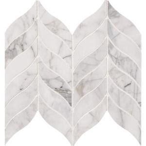 msi calacatta cressa leaf       mm honed