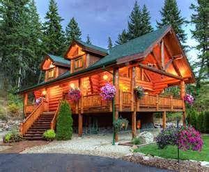 ranch log home floor plans log home photo gallery american log crafters