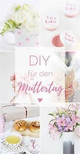 Diy Geschenkideen Mutter : 6 diy ideen f r den muttertag provinzkindchen ~ Markanthonyermac.com Haus und Dekorationen