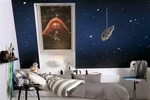 Star Wars Wandbild : la chambre star wars faire une d coration l 39 aide de votre imagination ~ Eleganceandgraceweddings.com Haus und Dekorationen